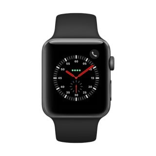 Apple Watch Series 3 Aluminum (GPS + Cellular) - 42 mm. Space Grey Aluminium Case with Grey Sport Band