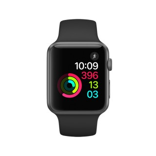 Apple Watch Series 1 - Space Grey Aluminium Case with Black Sport Band (42 mm)