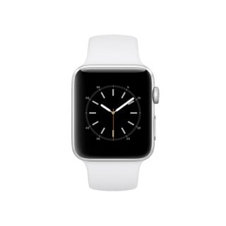 Apple Watch Series 2 - Silver Case with White Sport Band (42 mm)