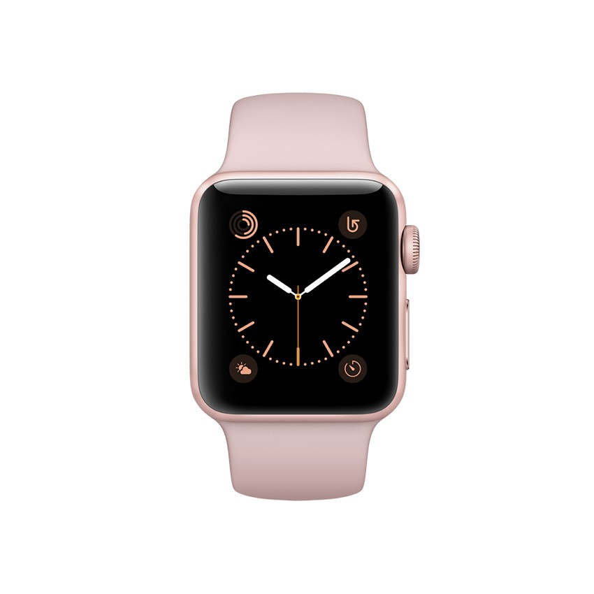 Apple Watch Series 2 - Rose Gold Aluminium Case with Pink