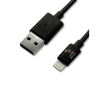 USB Round Cable with Lightning Connector 1m (3.3 ft)