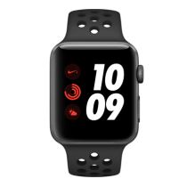 Apple Watch Nike+ Series 3 (GPS + Cellular) - 42 mm. Space Gray Aluminum Case with Anthracite/Black Nike Sport Band