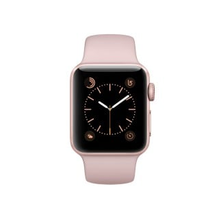 Apple Watch Series 2 - Rose Gold Aluminium Case with Pink Sand Sport Band (38 mm)