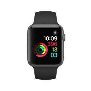 Apple Watch Series 1 - Space Grey Aluminium Case with Black Sport Band (38 mm)